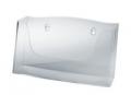 Wand-Prospekthalter acryl - 1 Fach, glasklar, für A4 quer