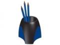 Schreibgeräteköcher DELTA schwarz/blau