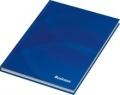 Kladde / Notizbuch Business blau, kariert, DIN A5, 96 Blatt, 70 g/qm