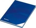 Notizbuch / Kladde Business blau, liniert, DIN A5, 96 Blatt, 70 g/qm