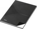 Notizbuch - A6, Hardcover, kariert, 96 Blatt, schwarz