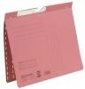 Pendelhefter, kfm. Heftung aus 250 g/qm Manilakarton (RC) rot