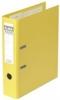 Ordner rado plast Rückenbreite 80 mm gelb