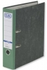 Ordner smart Wolkenmarmor  Rückenbreite 80 mm grün
