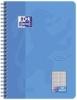 Collegeblock Touch - B5, 80 Blatt, 90 g/qm, kariert, meerblau