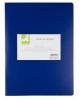 Sichtbücher mit 10 Hüllen blau