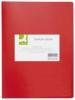 Sichtbücher mit 20 Hüllen rot