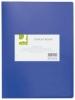Sichtbücher mit 40 Hüllen blau