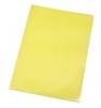 Sichthüllen A4 genarbt gelb, 100 Stück