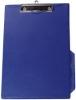 Klemmbrett mit Folienüberzug blau