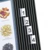 Erweiterungssatz für Sichttafel 10 Aufsteckreiter 25 mm