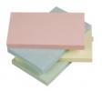 Haftnotizen Quick Notes Pastellfarben - pastellgelb, pastellrosa, pastellgrün, pastellblau 125 x 75 mm
