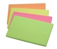 Haftnotizen Quick Notes Brilliantfarben - brilliant pink, brilliant gelb, brilliant grün, brilliant orange 125 x 75 mm