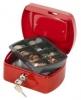 Geldzählkassetten Größe (B x T x H): 155 x 120 x 75 mm  rot