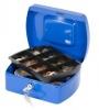 Geldzählkassette Größe 205 x 160 x 85 mm blau