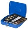 Geldzählkassetten Größe (B x T x H): 325 x 235 x 85 mm blau