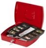 Geldzählkassetten Größe (B x T x H): 325 x 235 x 85 mm rot
