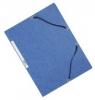 Dreiflügelmappe Karton blau