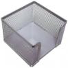 Zettelbox silber