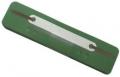 Heftstreifen Kunststoff, Deckleiste aus Kunststoff, Bündel mit 25 Stück grün