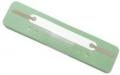 Heftstreifen Kunststoff, Deckleiste aus Kunststoff, Bündel mit 25 Stück hellgrün