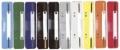 Heftstreifen Kunststoff, Deckleiste aus Kunststoff, farbig sortiert 250 Stück