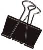 Foldback-Klammern 19 mm 7 mm schwarz, 10 Stück