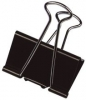 Foldback-Klammern 41 mm 19 mm schwarz