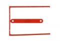 D-Clip/ Magi-Clip Archivierungssystem Archivbinder rot