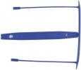 E-Clip Archivbinder - 8 cm, 100 Stück, blau
