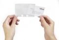 Visitenkarten-Drehkartei VISIFIX® flip 40 Ersatzhüllen