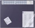 Schreibunterlage mit Jahreskalender dunkelblau