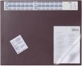 Schreibunterlage mit Jahreskalender rot