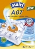 Staubfilter-Beutel  Marke AEG A 07 AirSpace 4 Stück