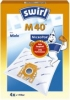 Staubfilter-Beutel  Marke Miele M 40/M54 AirSpace 4 Stück