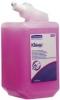 KIMCARE GENERAL* Waschlotion Nachfüllkartusche mit 1 Liter Waschlotion Normal, pafümiert pink