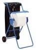 Fahrbarer Bodenständer blau