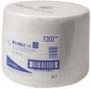 Fahrbarer Bodenständer Wischtuchrollen L20, 1-lagig, 1000 Tücher, zur Reinigung leicht verschmutzter Oberflächen weiß