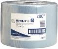 Fahrbarer Bodenständer Wischtuchrollen L20, 1-lagig, 1000 Tücher, zur Reinigung leicht verschmutzter Oberflächen blau
