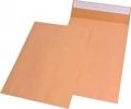 Faltentaschen C4 (229x324 mm) im Sparpack ohne Fenster, mit 40 mm-Falte 120 g/qm