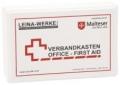 Betriebsverbandkasten Office - First Aid weiß