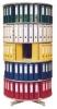 Ordnerdrehsäulen Typ R2 081 / 100 5 Etagen