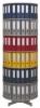 Ordnerdrehsäulen Typ R2 081 / 100 6 Etagen