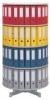Ordnerdrehsäulen Typ R2 081 / 100 4 Etagen