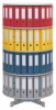 Ordnerdrehsäulen Typ R2 081 / 100 2 Etagen