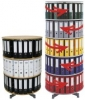Ordnerdrehsäulen Typ RE 081 B 6 Etagen