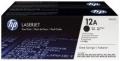 HP® Druckkassette Q2612AD schwarz