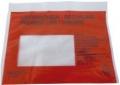 Begleitpapiertaschen mit Aufdruck Lieferschein - Rechnung